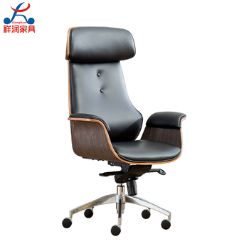 Modern high back office chair swivel computer leather office chair, View  bentwood office, No Product Details from Anji Xiangrun Furniture Co., Ltd.  on ...