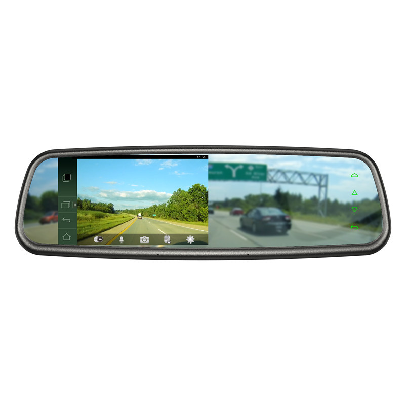 5.0 inch Android Car GPS Navigation Rear View Mirror with DVR