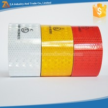 3M DGP Diamond grade Yellow/Red/White Adhesive Reflective Tape, ECE 104 Truck Vehicle Conspicuity Reflective Tape HGV 55mm Width