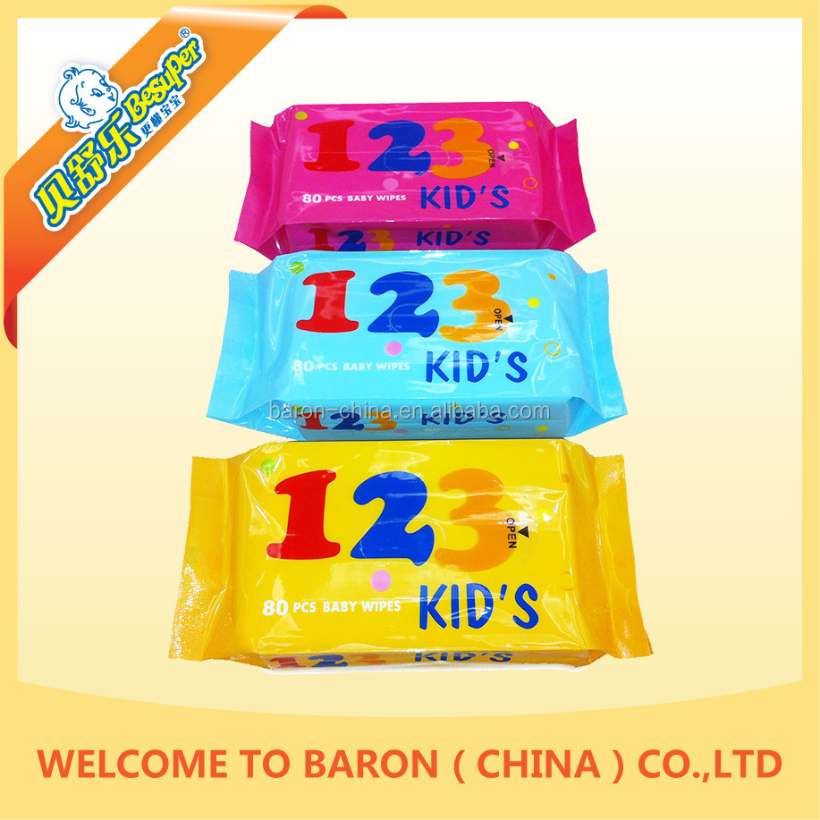 Sale top grade A quality commercial well baby nappy wipes