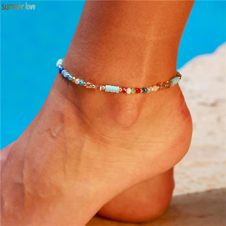 Femme Fille Bracelets Multi-couche Perle étoile Frange Ethnique Bohême Plage Eté