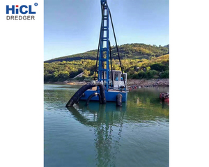 HJS300 10inch 1370m3/h jet suction river/sea sand/mud/sludge/gold/diamond panning fossick/injection/pumping dredger/ship/boat