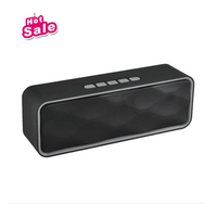 Portable High Quality Bluetooth Speaker with Microphone and FM Radio, Ideal for Halloween, Bar, gigs, Birthday