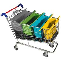Factory custom shopping cart bags with cheap price