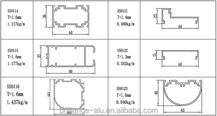 Customized Aluminium Partition Section Buy Aluminium