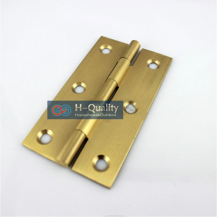 Get Quotations · Free Brass Screws 10PCS/Lot Door Hardware Beatiful Wire  Drawing 2 Inch (50MM)