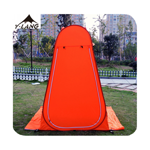 Portable Pop Up Spray Tanning Tent With Custom Logo For Outdoor Changing Room