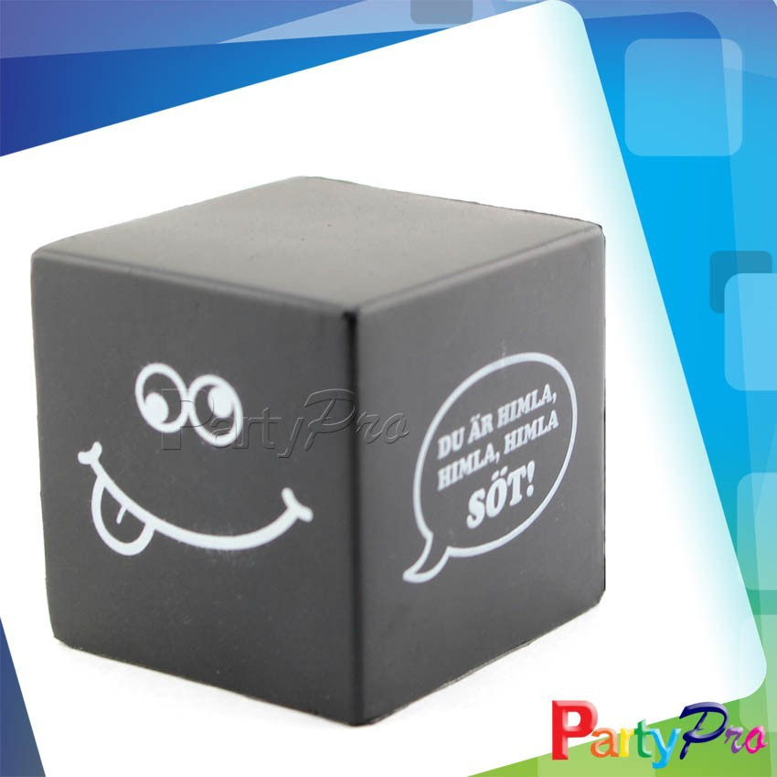 Partypro 2015 Chinese Products Custom Print Soccer Ball Cute Cube Stress Ball