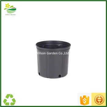 Por 2 Gallon Nursery Pots For Flower Growers 10 Inch Plastic Whole