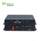 1080P VGA fiber optic converter VGA Video Audio Extender VGA Fiber Optic Transmitter & Receiver single mode fiber 20KM