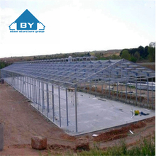Prefabricated Automatic Steel Structure Poultry Farm Building Shed Chicken Broiler House Design