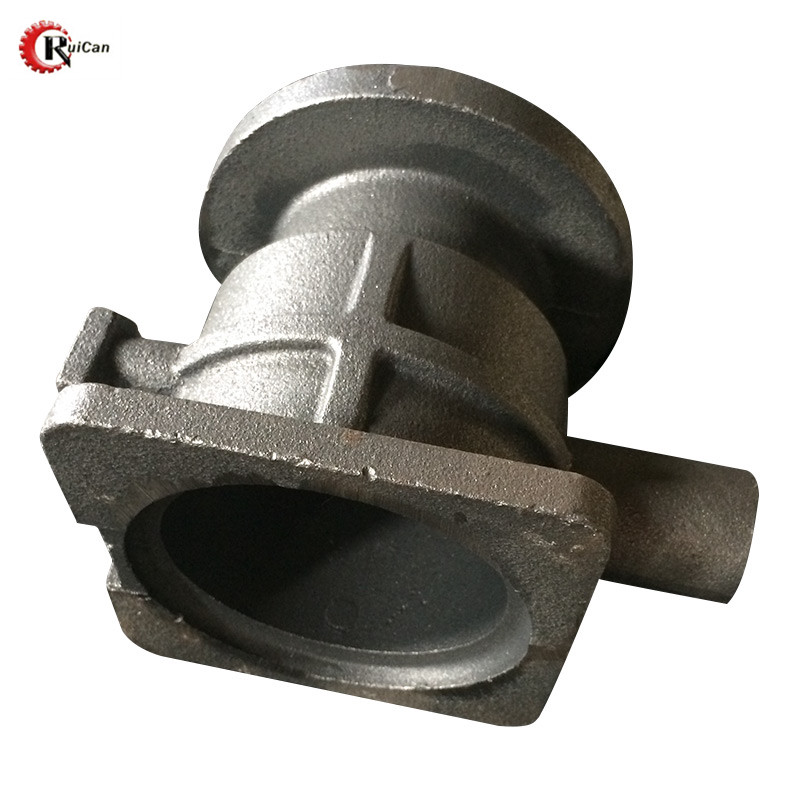 OEM customized iron sand casting process parts hydraulic fittings