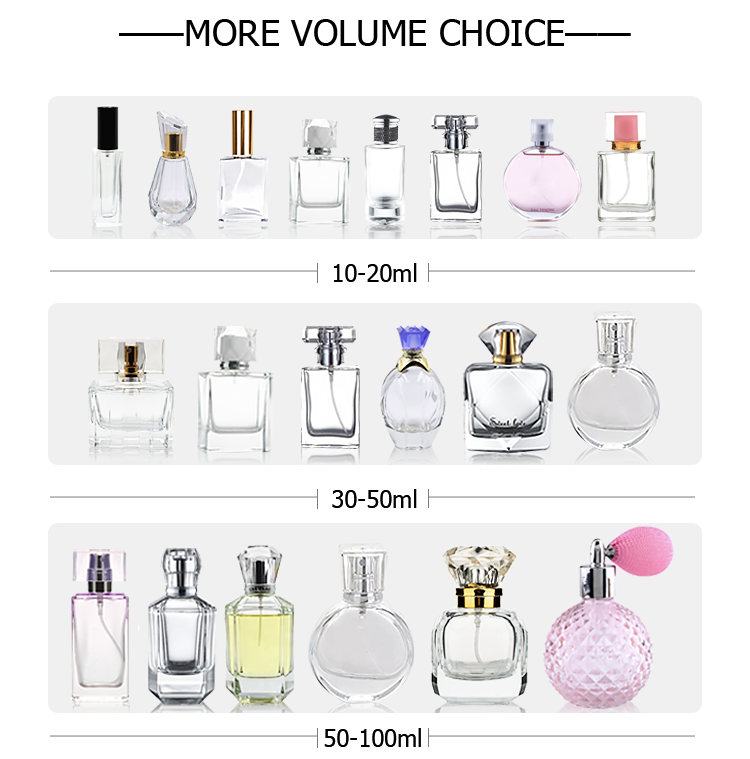 For sale 2ml White black clear PP plastic perfume bottle with caps