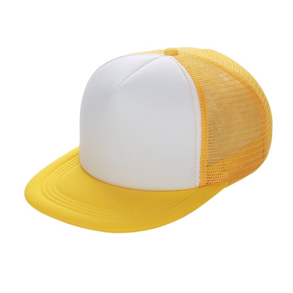 9dc003dfc2ce0 Get Quotations · Messagee Cool Adjustable Snapback Hip-hop Summer Hats Golf  Baseball Cap Hat Flat Brim(