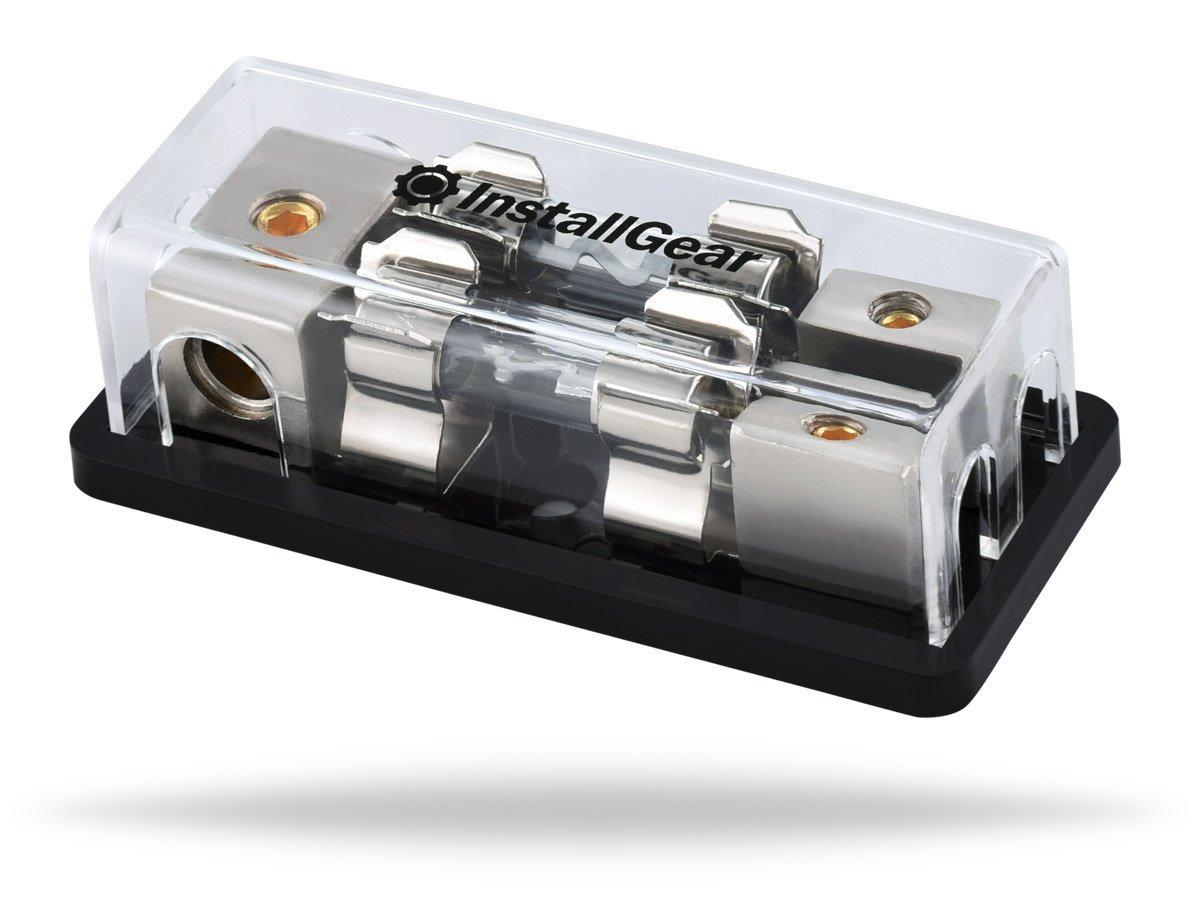 MagiDeal 300 Amp Inline ANL Fuse Holder Fuseholder Block Fusebox 0 4 8 AWG