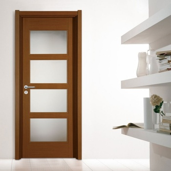 China Suppliers High Quality Interior Frosted Gl Doors Ready Made Bathroom Door For Residential