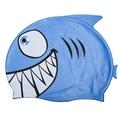 New Child Kids Cartoon Swimming Cap Fish Shark Pattern Swim Diving Hat Waterproof Silicone Hats Girl