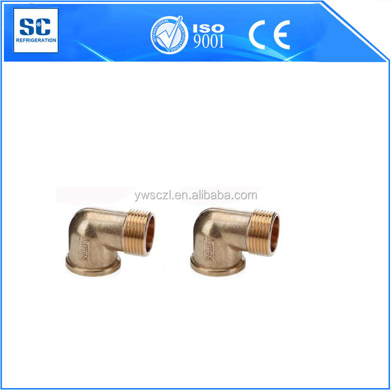 pipe fitting male to female to brass elbow 90 degree elbow