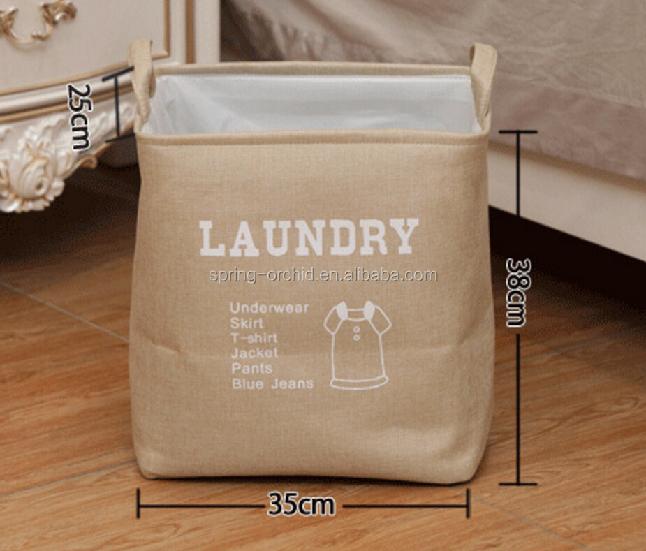 Eco-friendly Foldable Home Linen Dirty Clothes Storage Basket