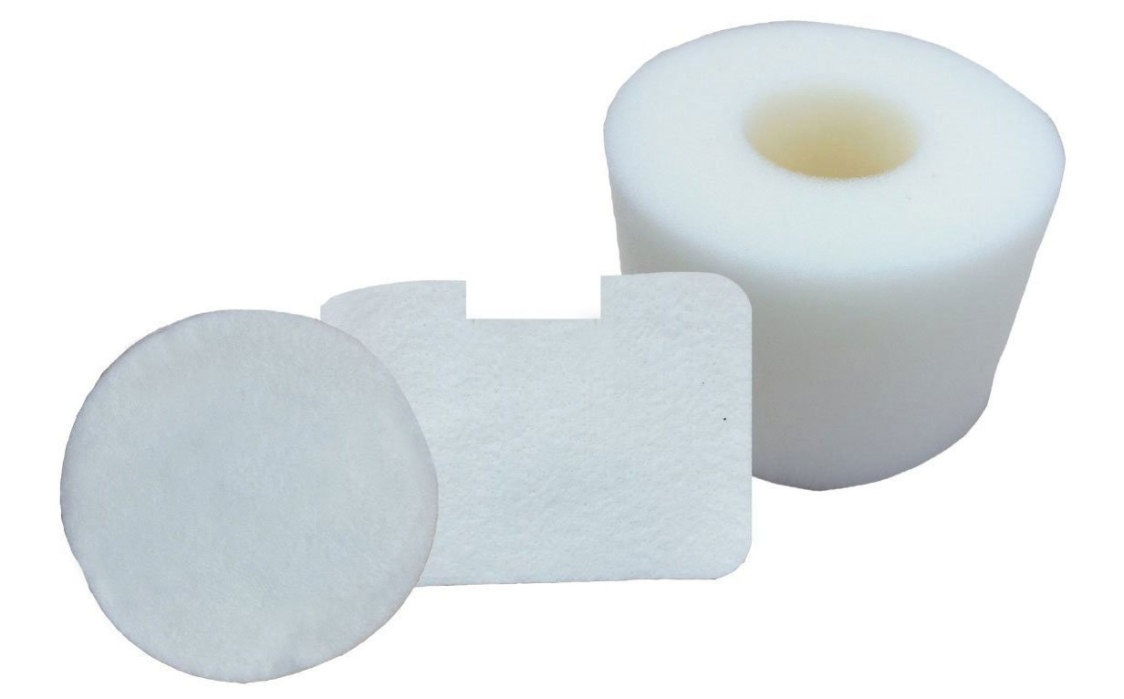 First4Spares Kit for Shark NV42 & UV402 XFF36 Vacuum Cleaners Replacement Foam & Felt Filter 3 Pieces
