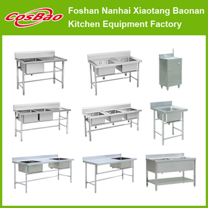 Restaurant kitchen sink/commercial stainless steel sink/wash sink BN-S18/19