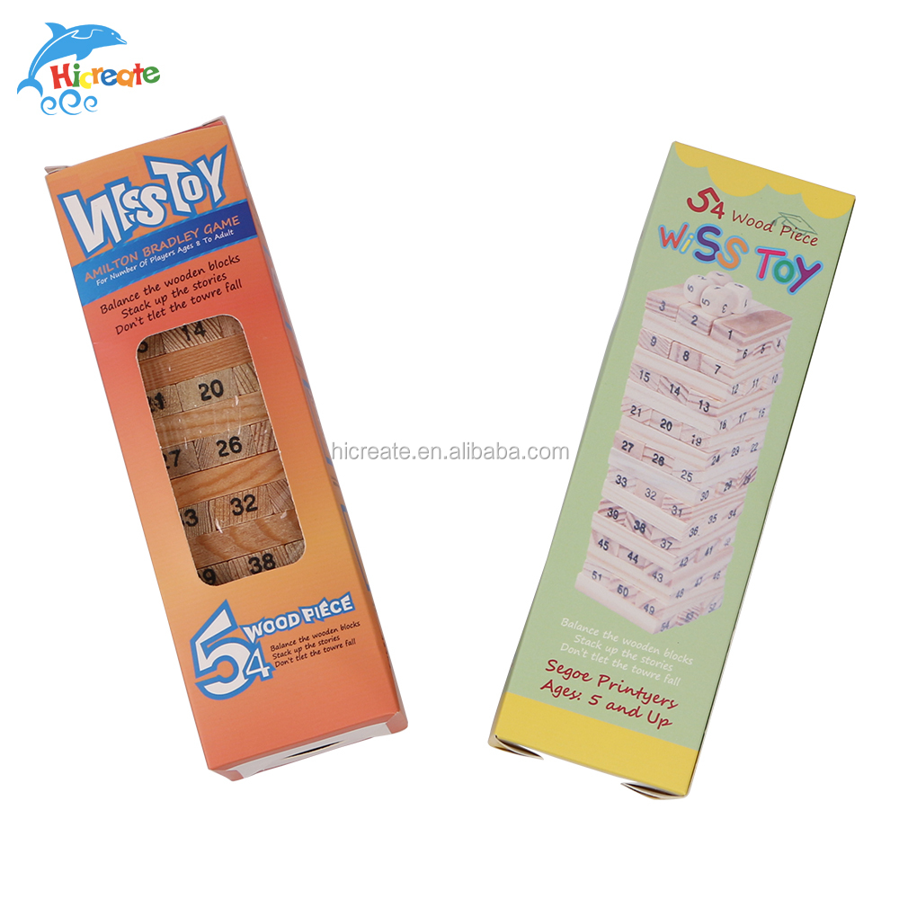 wooden blocks and mini stick <strong>game</strong> for kids