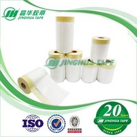 Protect From Paint Drips And Splatters HDPE Flim Disposable Paint Masking Film For Automotic