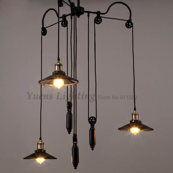 Vintage Industrial Cross Bath Light: Vintage Industrial Mirror Pendant Lights Wrought Iron