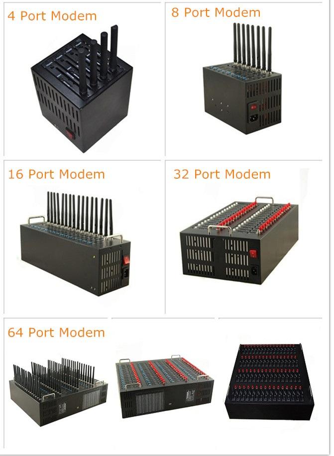 Dual band 900/2100mhz 32 ports usb gsm 3g modem pool
