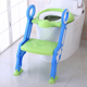 2018 new item baby product folding baby toilet with ladder plastic portable potty with stairs