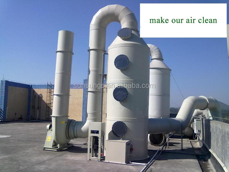 Air Scrubber Flue Gas Scrubber For Laboratory Acid Fume