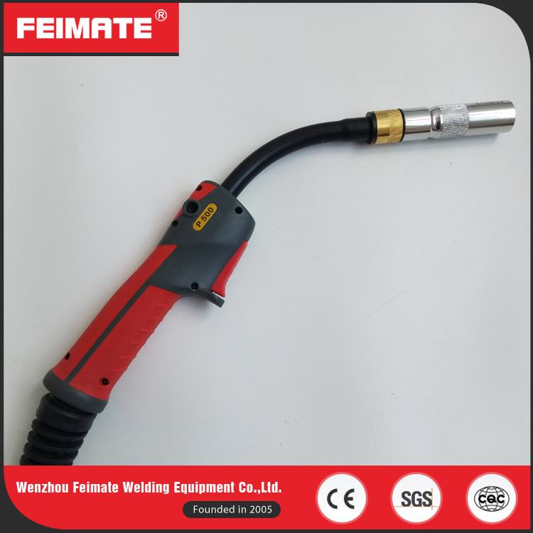 FEIMATE Best Products To Import To Usa Red Handle 500A MIG Welding Torch