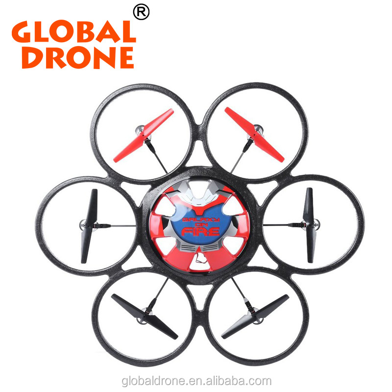 WLtoys V323 Drones 2.4G 4CH 6-Axis Gyro 2MP Camera rc plane rtf Remote Control Hexacopter Flying Saucer Drone Dron Toy
