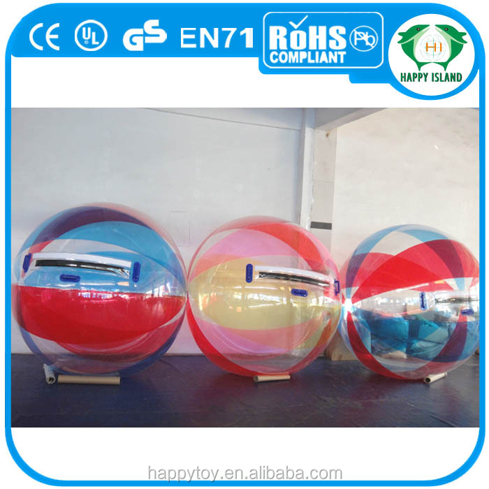 HI CE high quality Funny yo-yo water ball,water walking ball,water absorbing balls