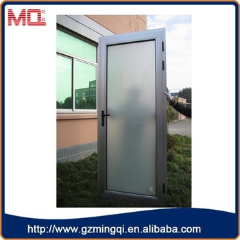 Factory Price Pvc Double Glass Frosted Exterior Glass Panel Doors