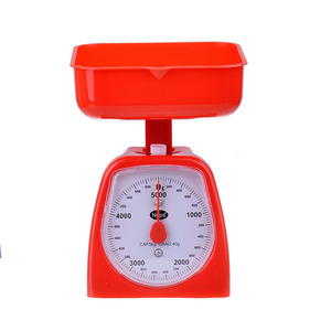 Cute design mechanical kitchen vegetable scale food scale