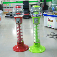 High Quality Coin operated Slot Machine for Candy Vendor Big Capsule Upright Vending Machine Bulk Coin Vendor