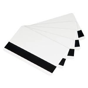 Card-tech 250pcs 4000 OE Magnetic White 30mil(0.76mm) PVC Cards Plastic Credit Gift Card Photo Card Magnetic Stripe Card