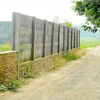 small business ideas concrete fence with fence panels precast slab machine design prefab house for india on sale