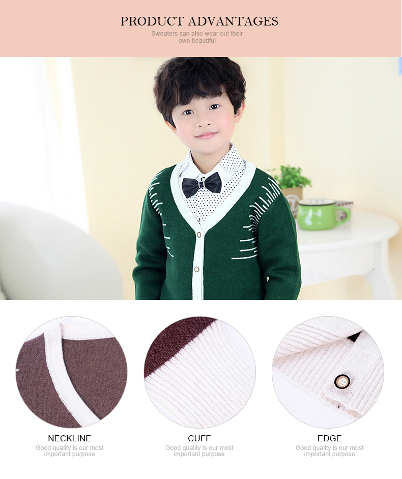 low price woolen sweater knitted kids pullover sweater