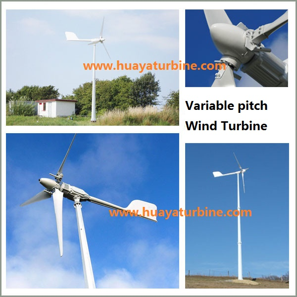 Factory! High Efficiency Pitch Controlled Windturbine 3kw With Wind ...