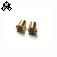CNC turning manufacturer brass shaft coupling