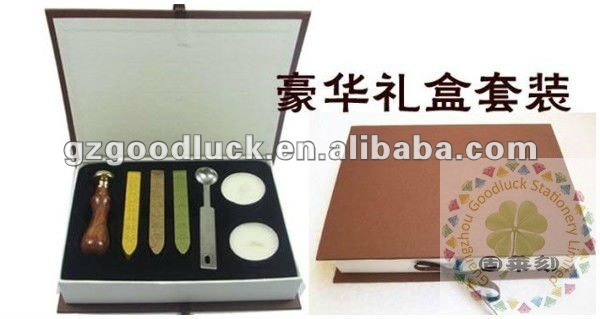 Envelop embossing wax stamping kit for wedding
