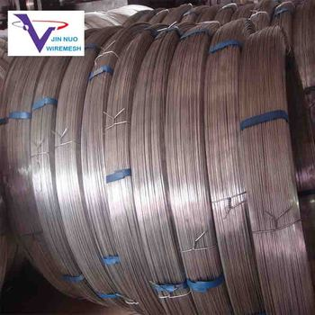 Strong corrosion resistance Oval galvanized steel wire for fishing net