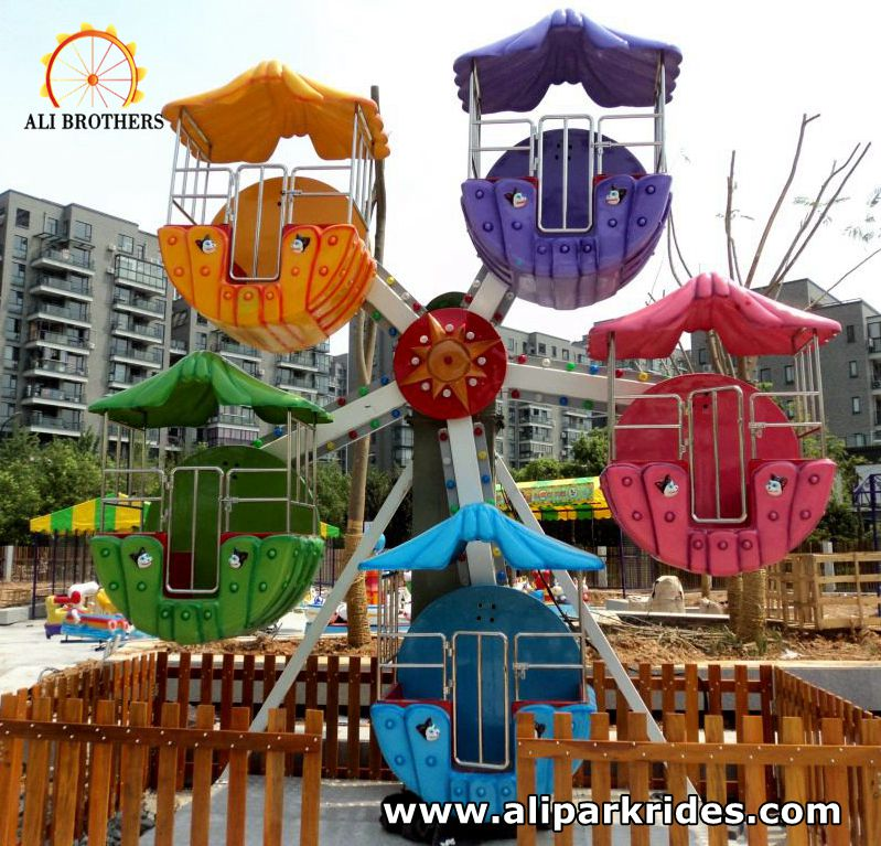 funfair park musical kids mini amusement ride ferris wheel for sale