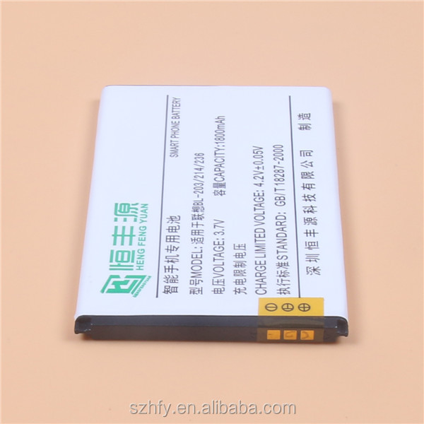 Shenzhen Factory Wholesale Replacement BL-203 Mobile Phone Battery for Lenovo bl 203