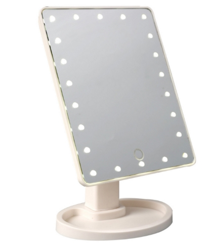 Vanity Folding Travel Make Up Dressing mirror led Desktop Mirror