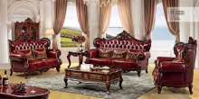 American Classical luxury sofa living room furniture