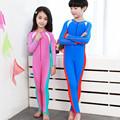 Long Sleeve Swimwear Diving Suit Wet Suit Rash Guard Kids Boys Girls Snorkeling Clothing Full Body