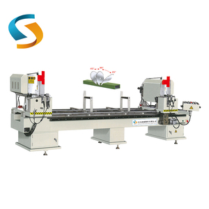 LJZ2-450X3700 Wholesale price aluminium twin double head cutting-off machines